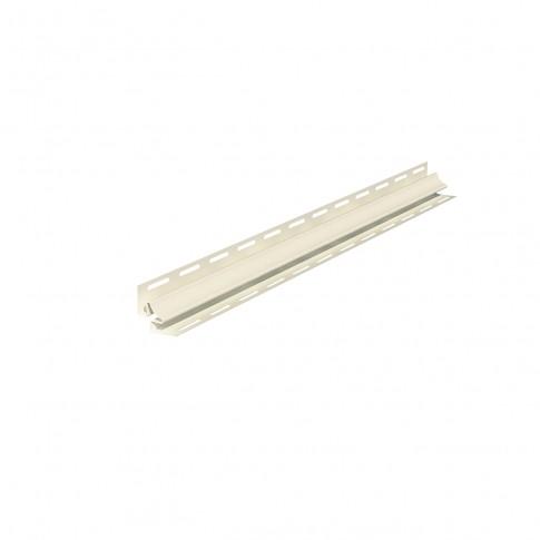Profil colt interior PVC, pentru lambriu exterior, Vox S-13, bej, 3.05 m