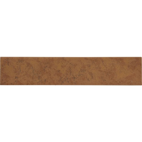 Plinta gresie portelanata Siena, mata, maro, 8 x 33.3 cm