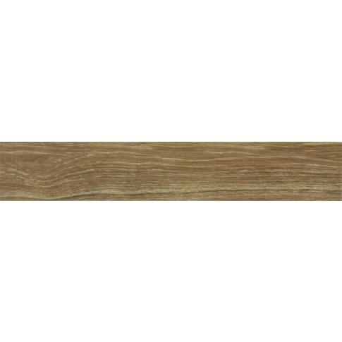 Plinta gresie portelanata Ebano Miel, mata, bej, 8 x 45 cm