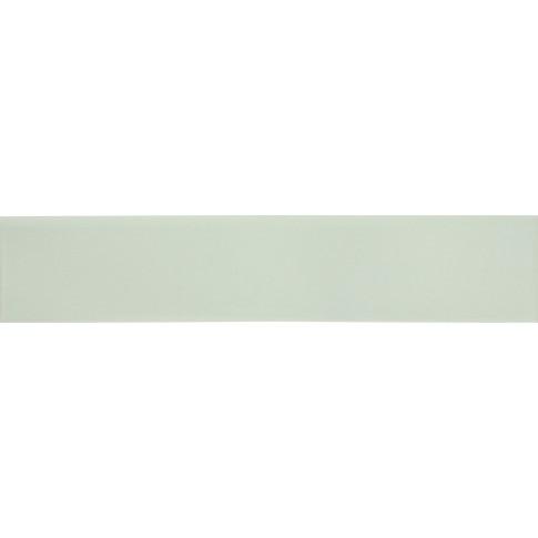 Plinta gresie portelanata Bianco Lucido, mata, alba, 8 x 45 cm
