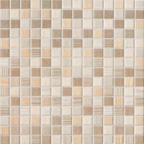 Faianta baie / bucatarie Roma bej mata mozaic 34 x 34 cm