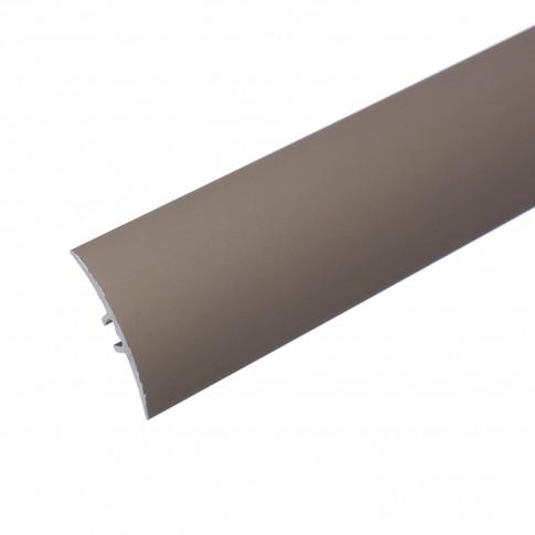 Profil aluminiu de trecere, suruburi ascunse, SET S64, sampanie, 0.93 m