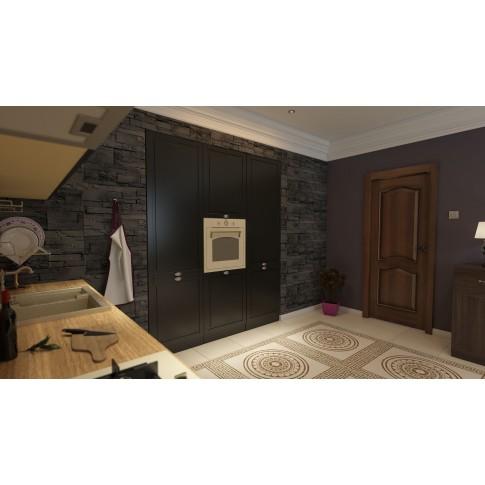 Piatra decorativa, interior  / exterior, Modulo Neo Deep Grey, gri, 1 mp