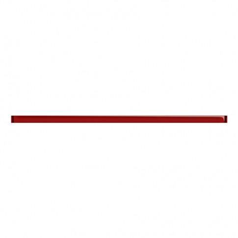 Brau faianta Glass Red, lucios, rosu, 2 x 60 cm