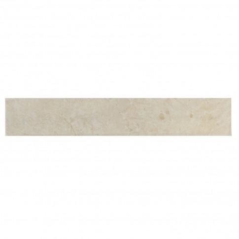 Plinta gresie portelanata Mistral Crema, lucioasa, crem, 8 x 45 cm
