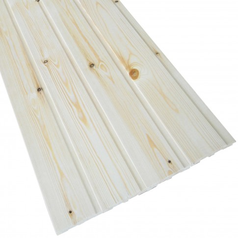 Lambriu lemn rasinoase Promobila, interior / exterior, 4000 x 96 x 12.5 mm