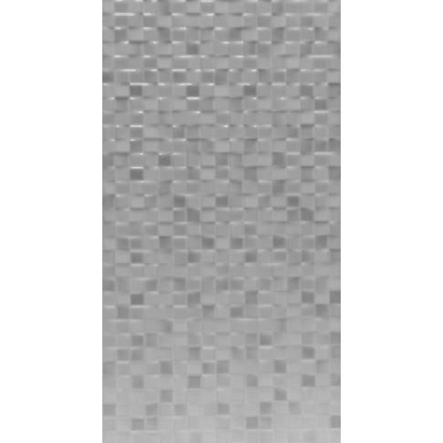 Faianta baie mozaic Trend alba lucioasa 25 x 50 cm