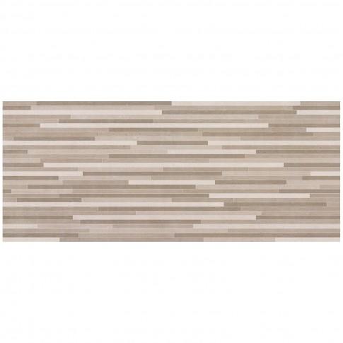 Decor faianta mozaic baie / bucatarie Stuttgart mix mat maro 25 x 60 cm