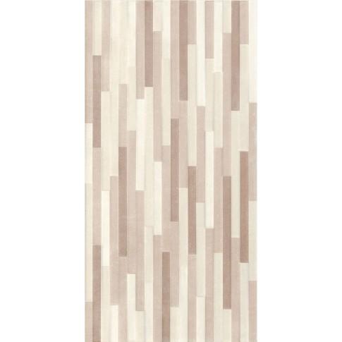 Decor faianta baie / bucatarie Lyon Taupe mat bej 25 x 50 cm