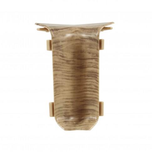 Colt interior pentru plinta Set 10456-6025 stejar 52 x 22 mm 4 buc/set