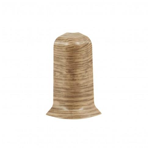 Colt exterior pentru plinta SET 10456-6025 stejar elegant 52 x 22 mm 2 buc/set
