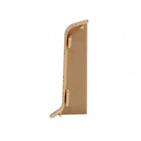 Terminatie pentru plinta, stanga / dreapta, SET 10456-6025, PVC, stejar, 52 x 22 mm, 2 buc / set