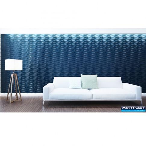 Panou decorativ 3D Danube, ipsos, 60 x 60 cm