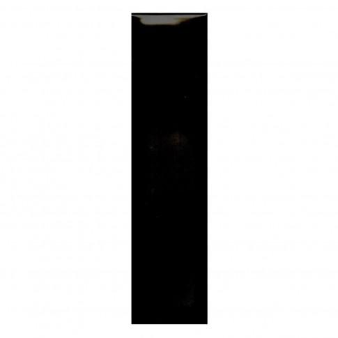 Faianta baie Arles neagra lucioasa 7.5 x 30 cm