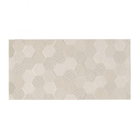 Faianta baie / bucatarie Grafen hexagon bej mata 30 x 60 cm