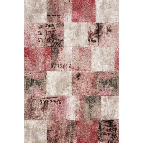 Covor living / dormitor Sintelon Vegas 01 ECC polipropilena dreptunghiular rosu 200 x 290 cm