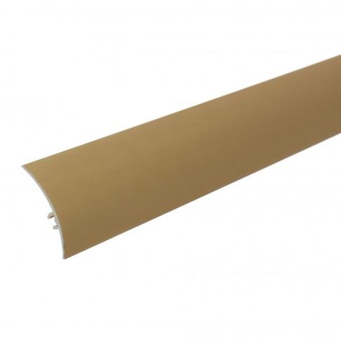 Profil aluminiu de trecere, diferenta de nivel, auriu satinat, 0.9 m