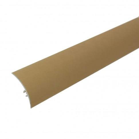 Profil aluminiu de trecere, diferenta de nivel, auriu satinat, 2.7 m