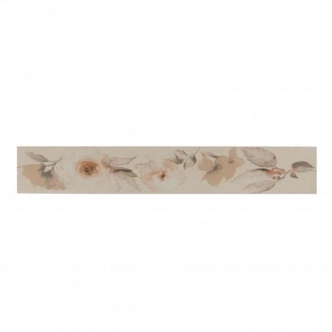 Brau faianta Callisto crean flowers 26451 crem mat 8 x 50 cm