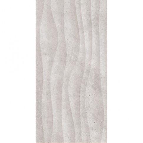 Faianta baie / bucatarie 2051-0142 Land structurata gri mata 25 x 50 cm