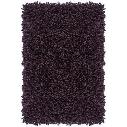 Covor living / dormitor Carpeta Viva 10391-33000 polipropilena heat-set dreptunghiular mov 70 x 140 cm
