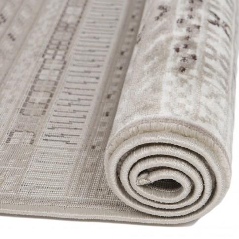 Covor living / dormitor Carpeta Delta 66961-43255 polipropilena heat-set dreptunghiular bej 60 x 110 cm