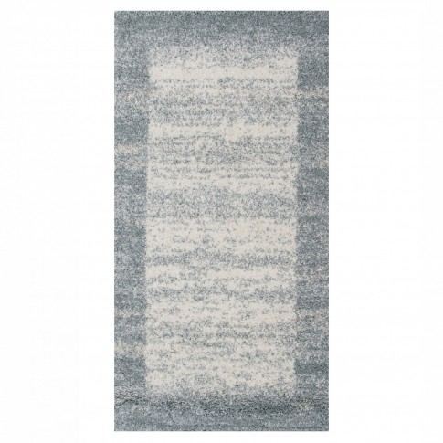 Covor living / dormitor McThree Softn 6897 H313 polipropilena frize, heat-set dreptunghiular albastru 120 x 170 cm
