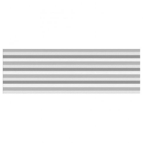 Decor faianta baie / bucatarie Parisien Bianco Gemma lucios gri 24.4 x 74.4 cm