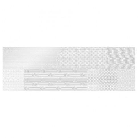Decor faianta baie / bucatarie Parisien Bianco Silk lucios alb 24.4 x 74.4 cm