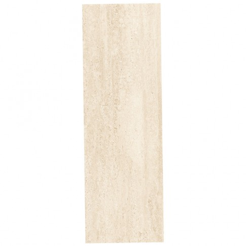 Faianta baie / bucatarie rectificata Gusto bej lucioasa 24.4 x 74.4 cm
