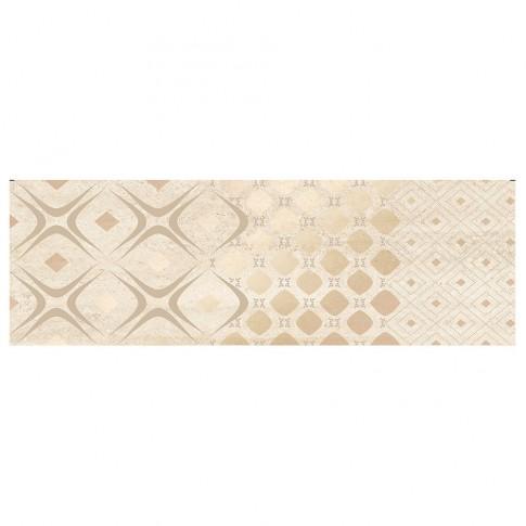 Decor faianta baie / bucatarie Gusto Beige Glamour lucios 24.4 x 74.4 cm