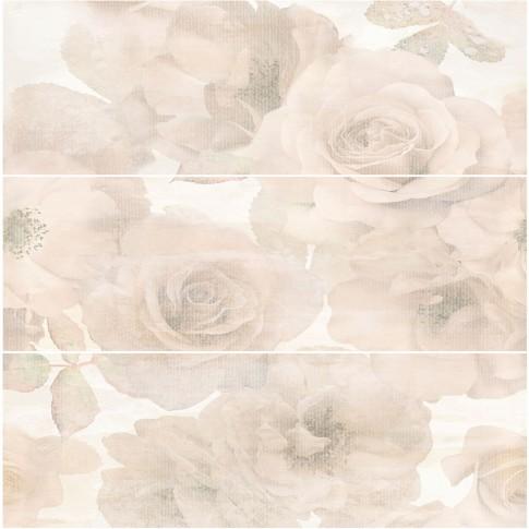 Decor faianta baie / bucatarie Musa Beige Roze lucios 24.4 x 74.4 cm  x  3