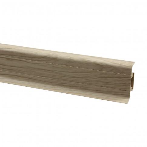 Plinta parchet PVC 10456-6010 canal stejar pacific 2500 x 52 x 22 mm