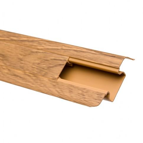 Plinta parchet PVC 10456-6013 canal stejar transilvania 2500 x 52 x 22 mm