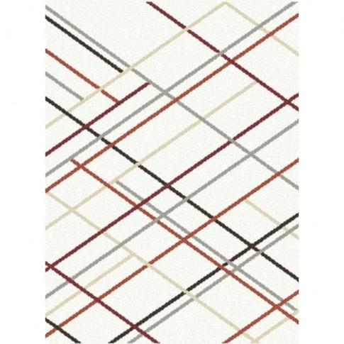 Covor living / dormitor McThree Modena 7813 H701 polipropilena dreptunghiular crem 80 x 150 cm