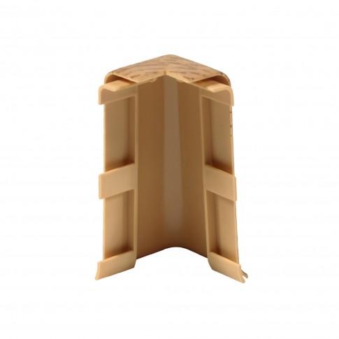 Colt exterior pentru plinta Vilo Esquero 608, stejar rosu, 66.6 x 21.9 mm, 2 buc / set