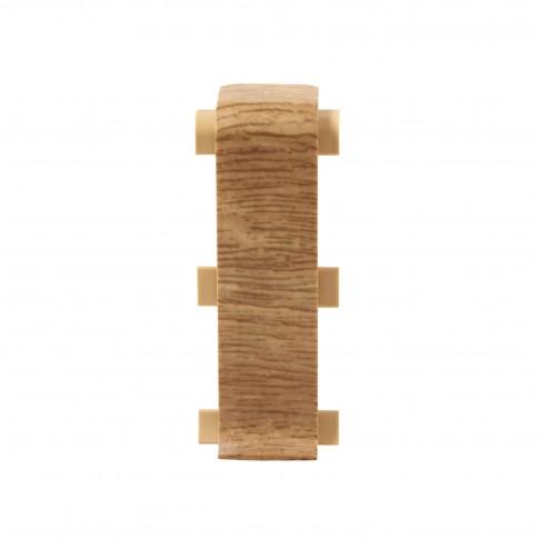 Element imbinare pentru plinta Vilo Esquero 608, stejar rosu, 66.6 x 21.9 mm,  2 buc / set