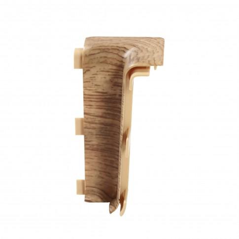 Colt interior pentru plinta Vox Esquero 608 stejar rosu 66.6 x 21.9 mm 2 buc / set