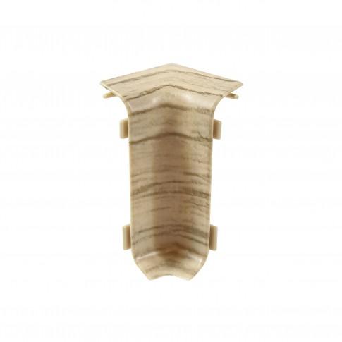 Colt interior pentru plinta Set 10456-6010 stejar pacific 52 x 27 mm 4 buc/set