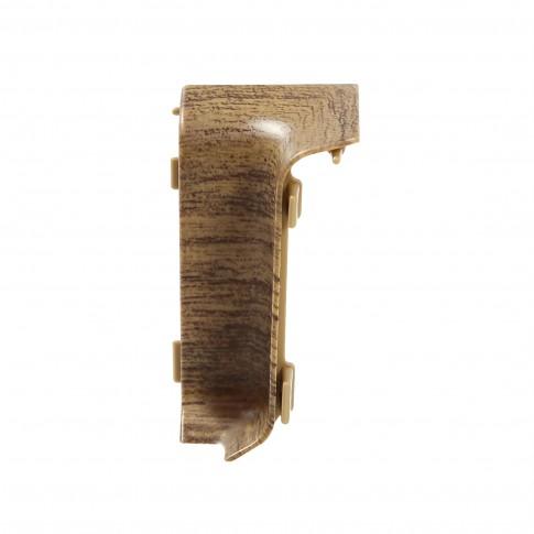Colt interior pentru plinta Set 10456-6011 nuc walnut 52 x 27 mm 4 buc/set