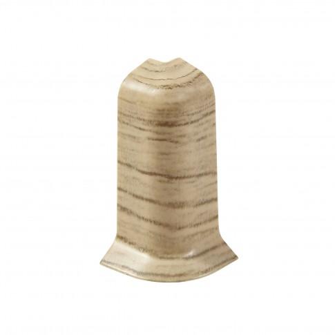 Colt exterior pentru plinta SET 10456-6010 stejar pacific 52 x 60 mm 2 buc/set