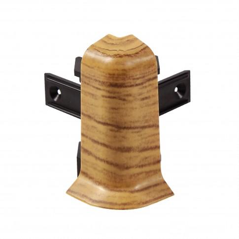 Colt exterior pentru plinta SET 10456-6012 stejar sutter 52 x 60 mm 2 buc/set