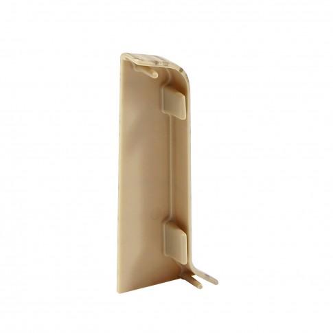Terminatie pentru plinta, stanga / dreapta, SET 10456-6010, PVC, stejar pacific, 52 x 20 mm, 4 buc / set
