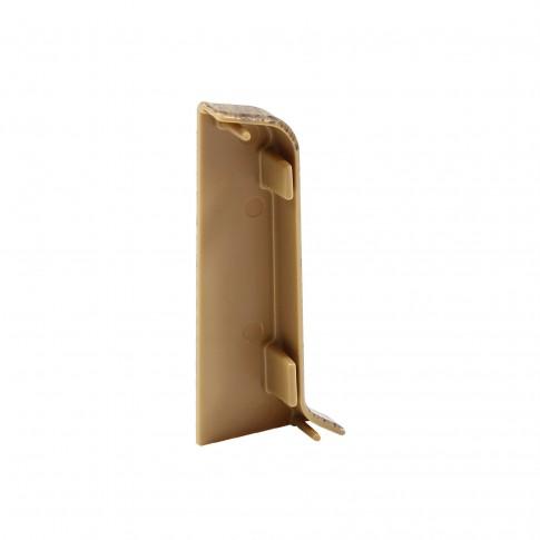 Terminatie pentru plinta, stanga / dreapta, SET 10456-6011, PVC, nuc walnut, 52 x 20 mm, 4 buc / set