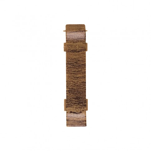 Element imbinare pentru plinta SET 10456-6011 nuc walnut 52 x 20 mm 5 buc/set