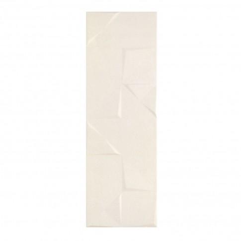 Faianta baie / bucatarie Chelsea Relief crem lucioasa 28.5 x 85.5 cm