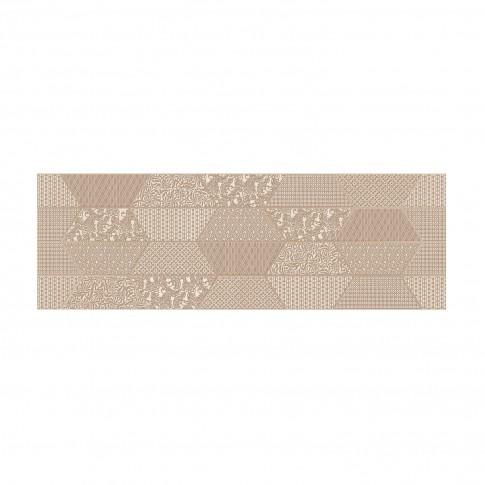Decor faianta baie / bucatarie Chelsea Beige lucios 28.5 x 85.5 cm