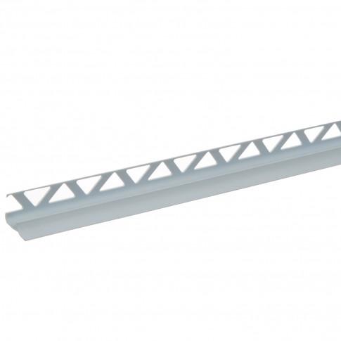 Profil PVC pentru colt interior, SET, albastru deschis, 10 mm, 2.5 m