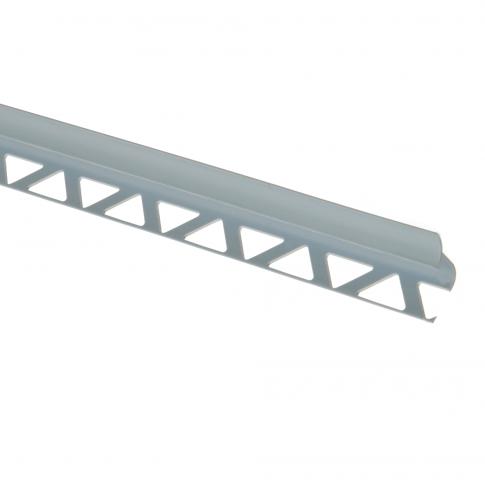 Profil PVC pentru colt interior, SET, gri, 10 mm, 2.5 m