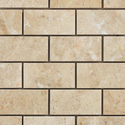 Mozaic Mesta Bursa marm. bej Polished 2.3 x 4.8 cm